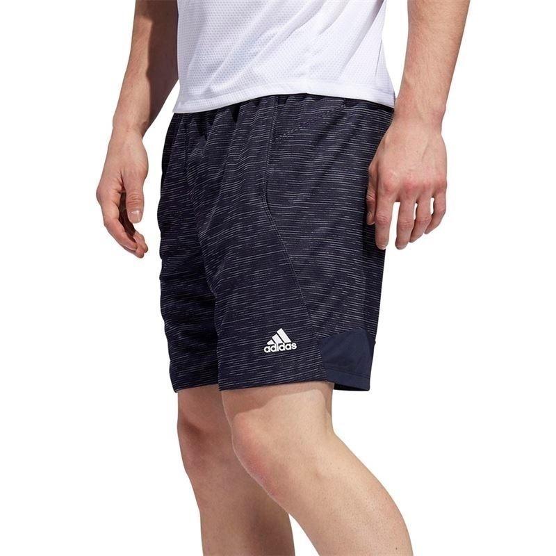Adidas 4Krft Sport Striped Kırçıllı Şort Lacivert