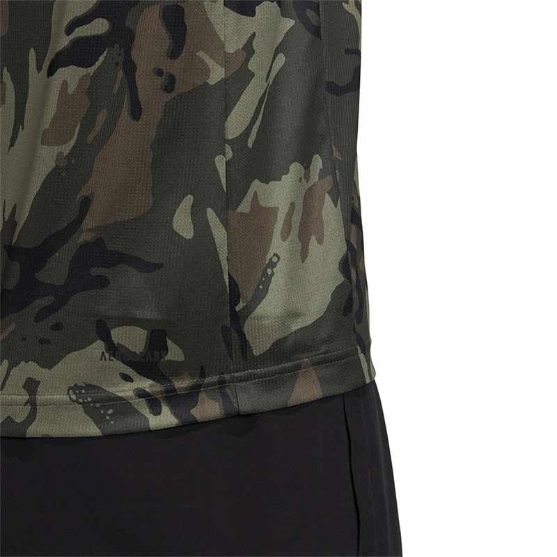 Adidas Designed To Move T-Shirt Kamuflaj