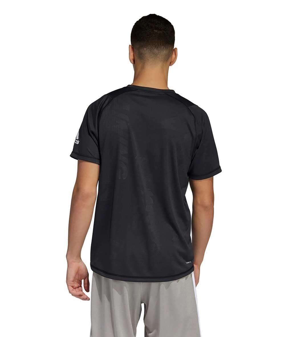 Adidas Freelift Daily Press T-Shirt Siyah