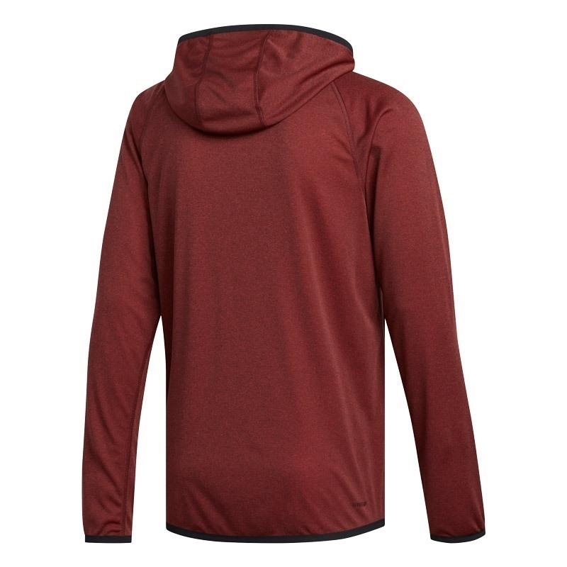 Adidas Freelift Hoodie Fermuarlı Kapüşonlu Sweatshirt Kırmızı