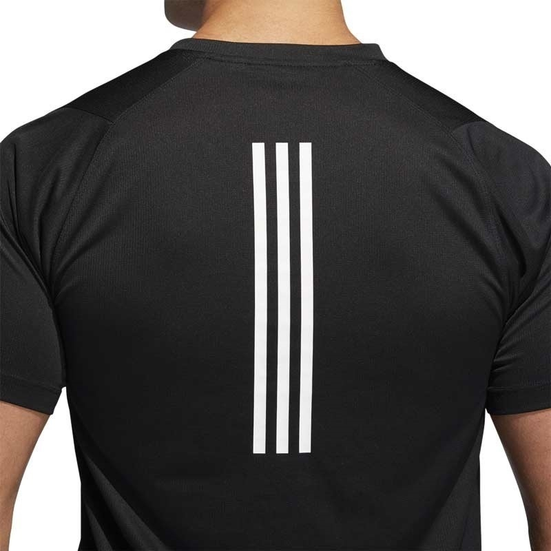 Adidas Freelift Sport 3 Bantlı T-Shirt Siyah