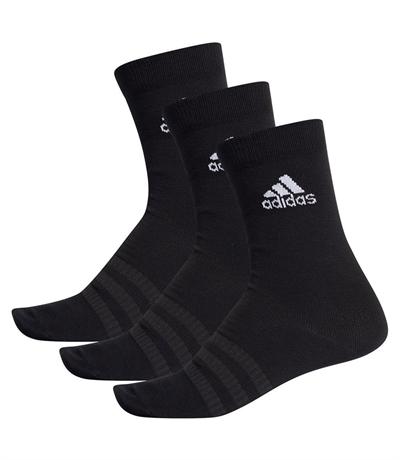 Adidas Light Crew 3\'lü Çorap Siyah
