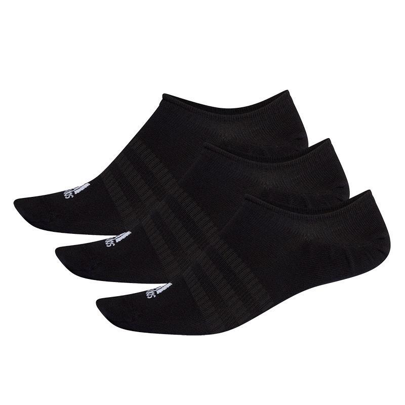 Adidas No Show 3'lü Çorap Siyah