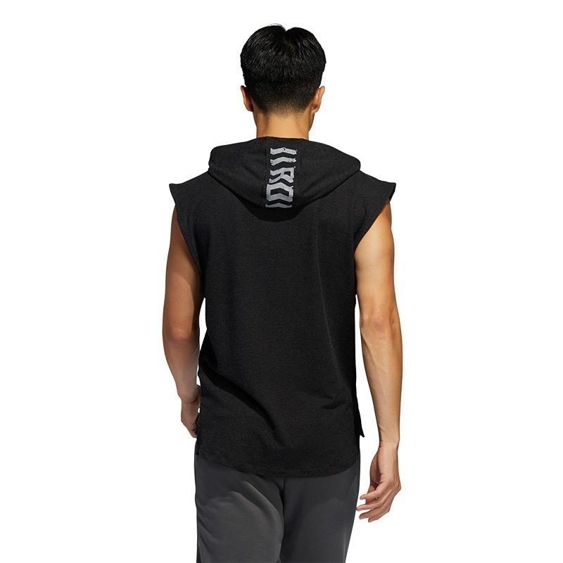 Adidas Tko Hooded Tee Kapüşonlu Kolsuz T-Shirt Siyah