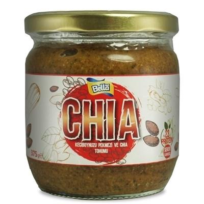 Bellanut Chia Yer Fıstığı Ezmesi 375 Gr