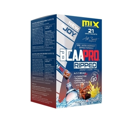 Big Joy Bcaa Pro Ripped Go! 21 Drink Packets