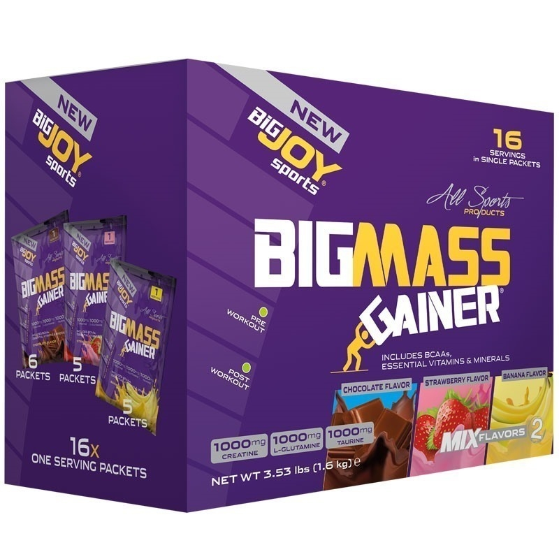 Big Joy Big Mass 1600 Gr 16 Saşe