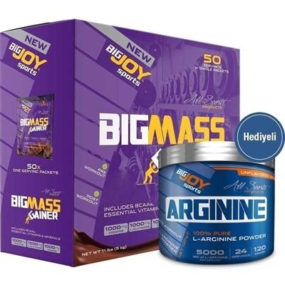 Big Joy Big Mass 5000 g Mix 2 + Arginine Powder 120 g Hediyeli