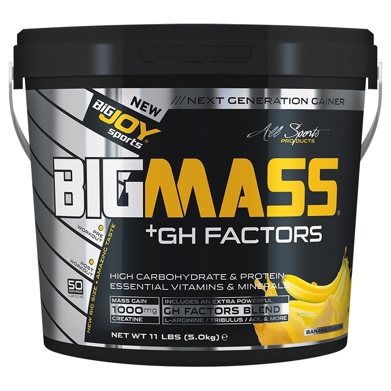Big Joy Big Mass +GH Factors 5000 Gr