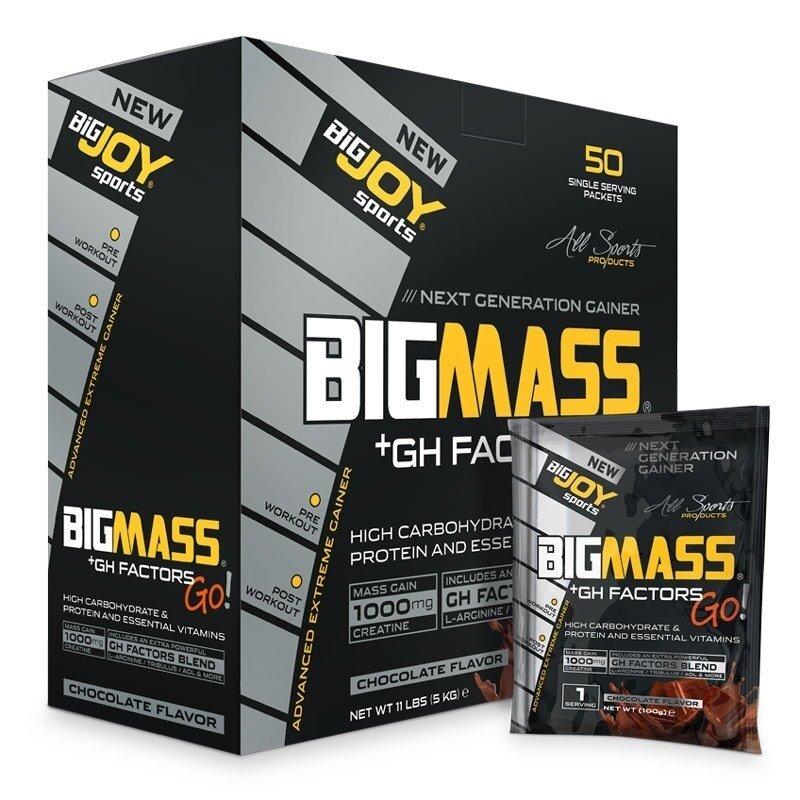 Big Joy Big Mass +GH Factors Go 5000 Gr 50 Saşe