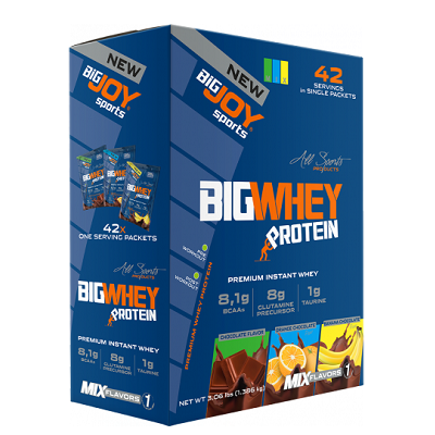 Big Joy Big Whey 1386 Gr 42 Saşe