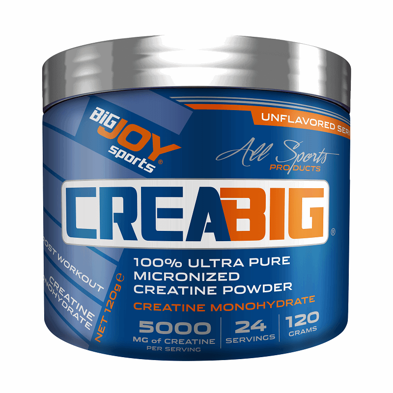 Big Joy Crea Big Micronized Creatine Powder 120 Gr