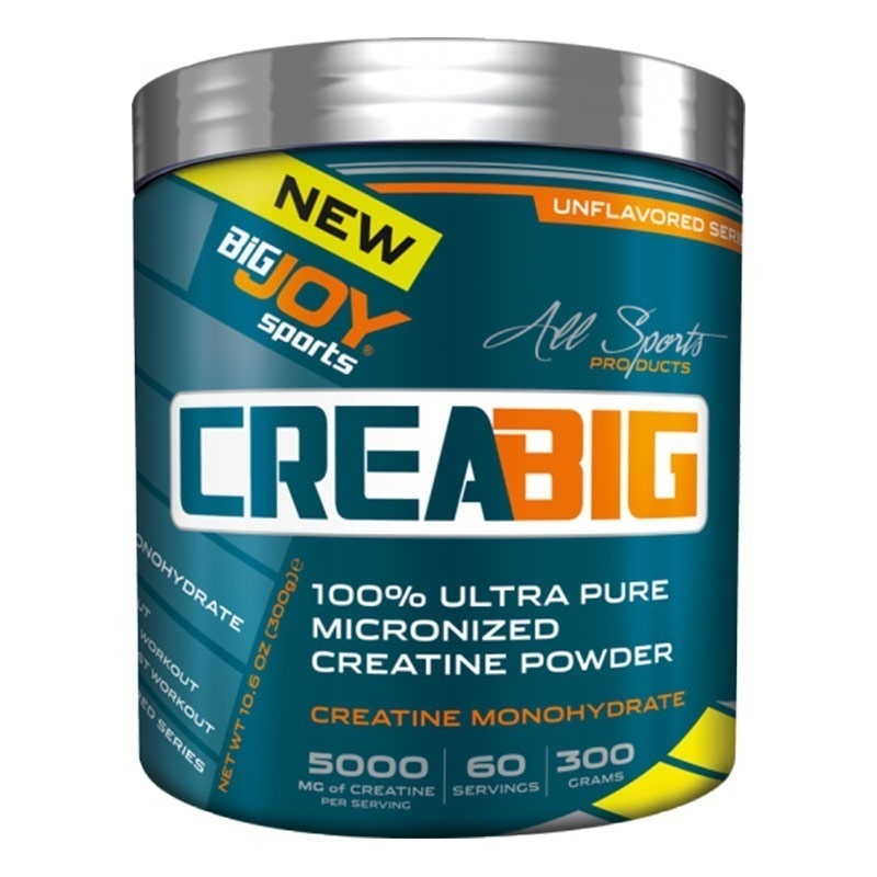 Big Joy Crea Big Micronized Creatine Powder 300 Gr