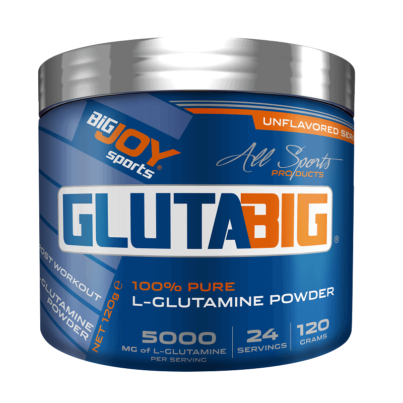 Big Joy Gluta Big % 100 Glutamine Powder 120 Gr