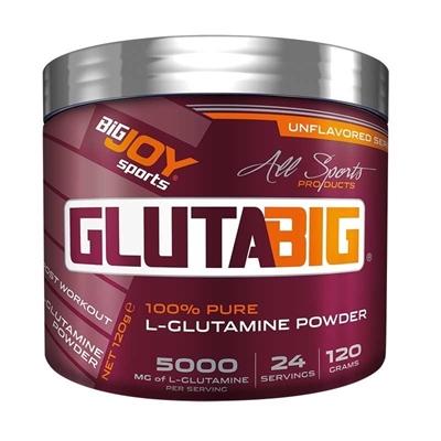 Big Joy Gluta % 100 Glutamine Powder 120 Gr