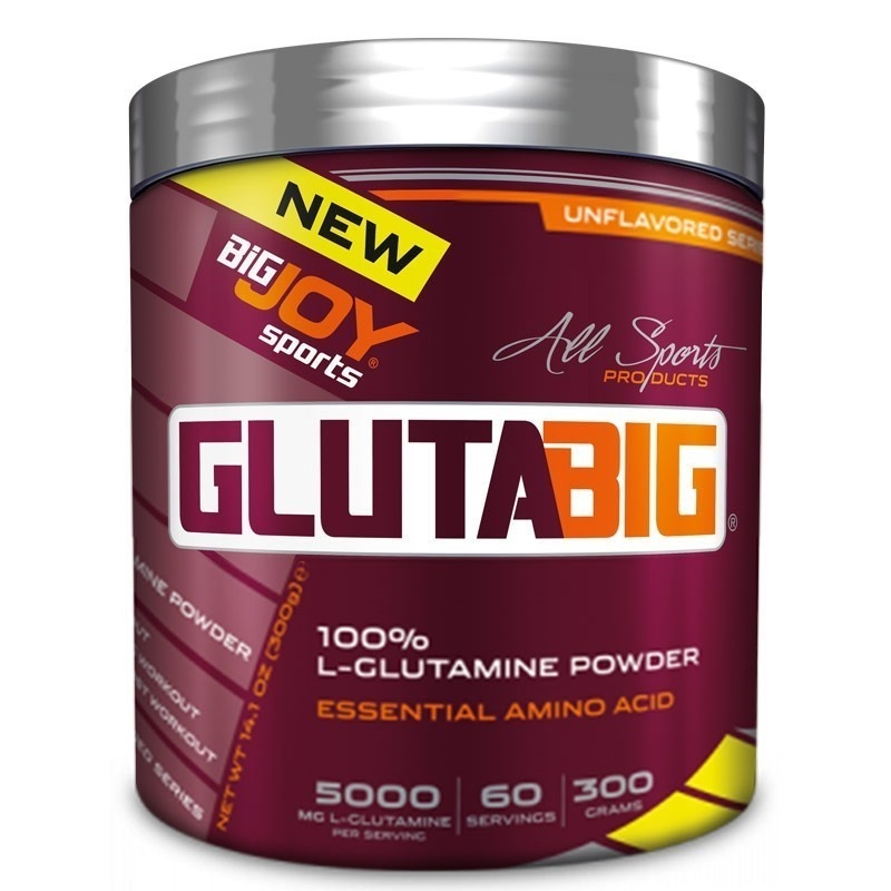 Big Joy Gluta Big %100 Glutamine Powder 300 Gr