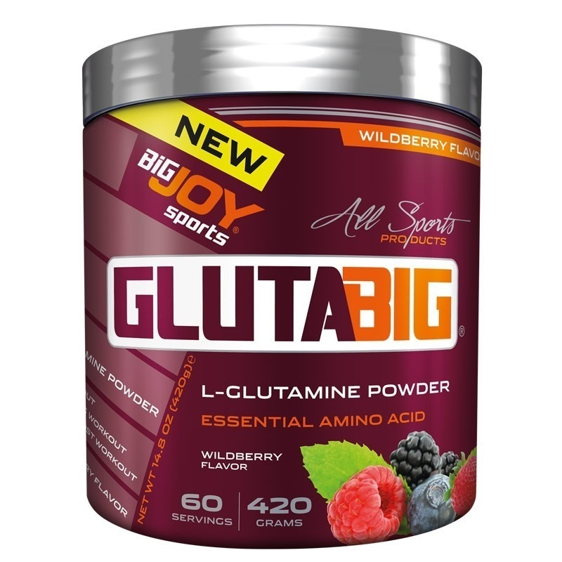 Big Joy Gluta Big % 100 Glutamine Powder 420 Gr