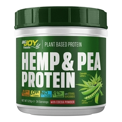 Big Joy Hemp & Pea Plant Based Protein 528 Gr
