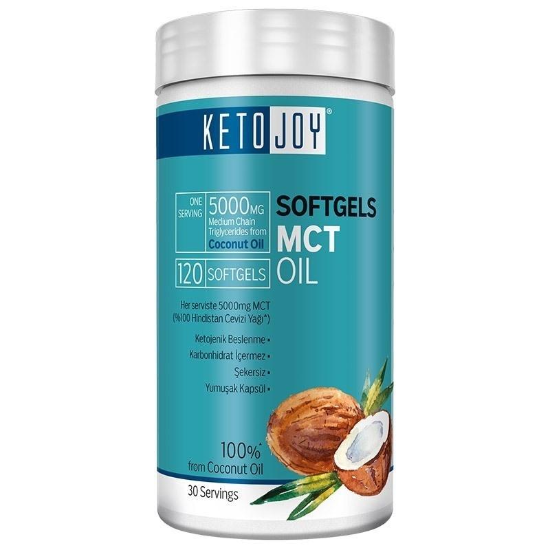Big Joy Ketojoy MCT Oil 120 Kapsül