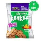 Big Joy Yüksek Proteinli Kraker 42 Gr 12 Adet