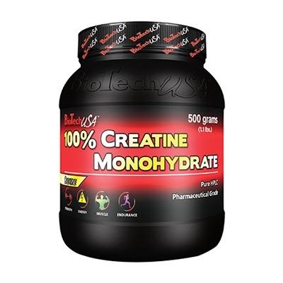 Biotech 100% Creatine 500 Gr