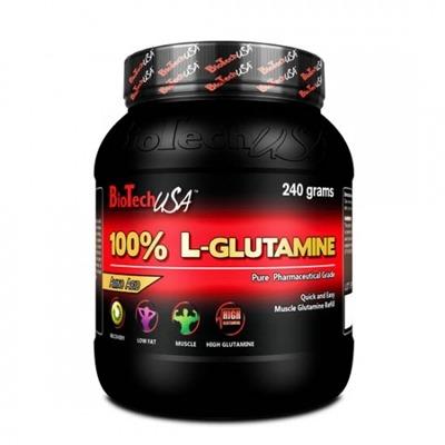 Biotech 100% L-Glutamine 500 Gr