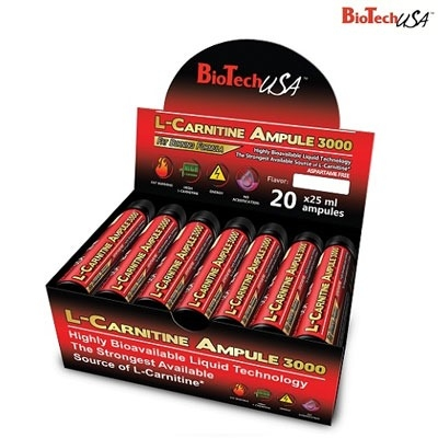 Biotech L-Carnitine 3000 20 Ampül