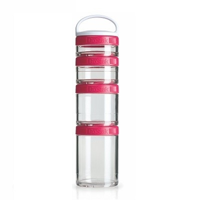 Blender Bottle Go Stak Pembe 350 ml