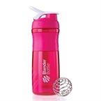 Blender Bottle Sportmixer Pembe Beyaz 760 ml