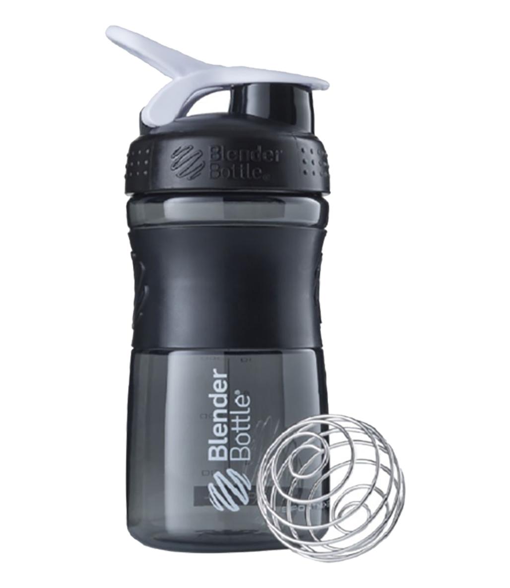 Blender Bottle Sportmixer Siyah Beyaz 500 ML