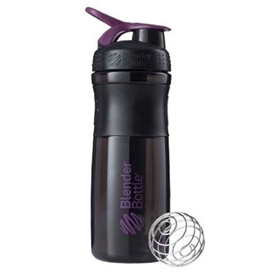 Blender Bottle Sportmixer Siyah Mor 760 Ml