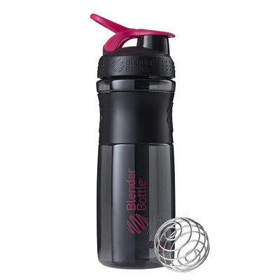 Blender Bottle Sportmixer Siyah Pembe 760 ml