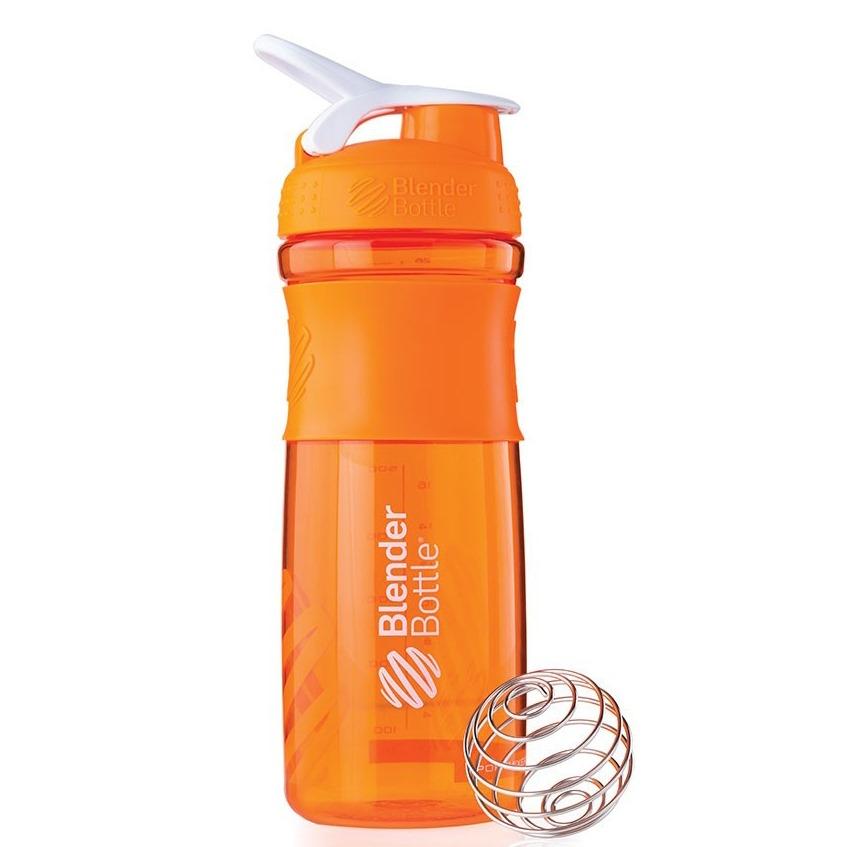 Blender Bottle Sportmixer Turuncu Beyaz 760 ML