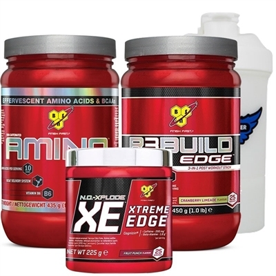 BSN Amino X + R3Build + NO-Xplode Performans Kombinasyonu
