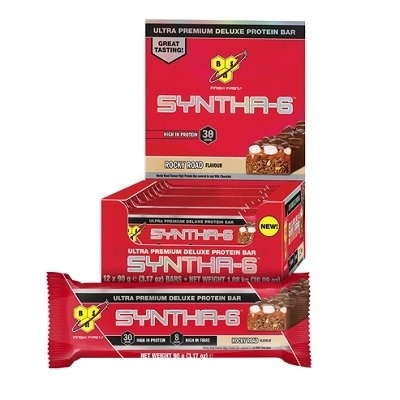 Bsn Syntha-6 Ultra Premium Deluxe Protein Bar 90 Gr 12 Adet