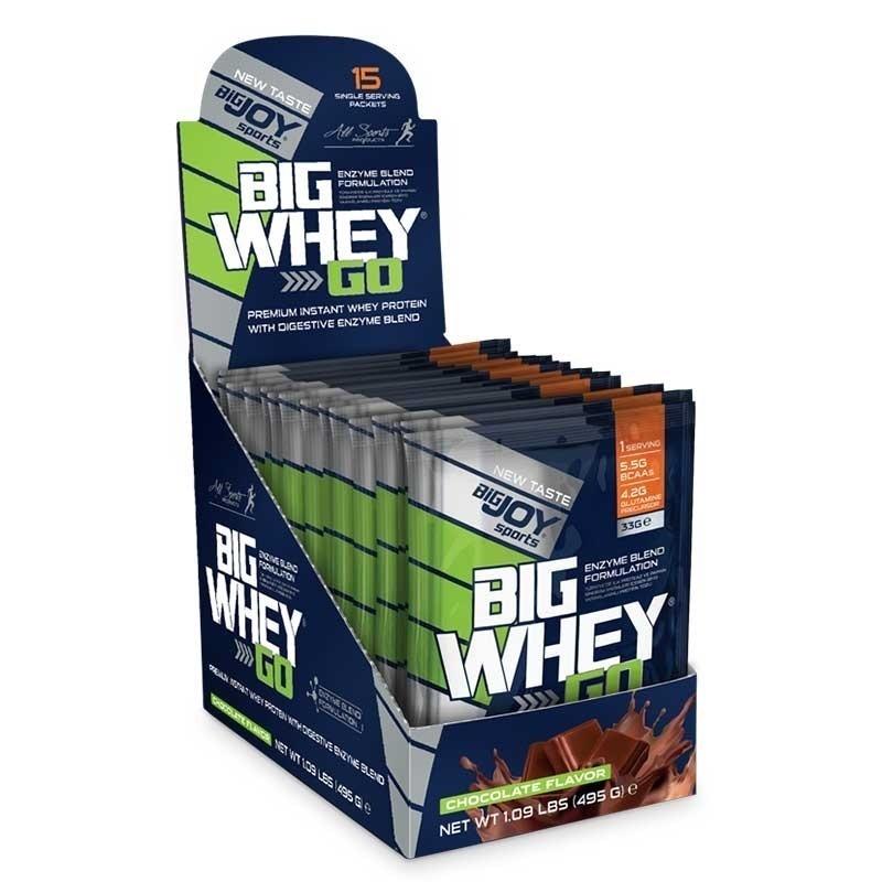 Copy of Big Joy Big Whey Go Protein 458 Gr 15 Saşe