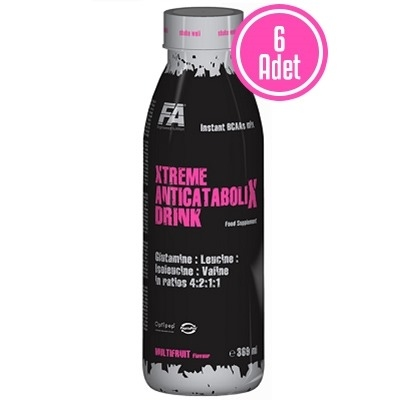 FA Nutrition Anticatabolix BCAA Drink 369 ML 6 Adet