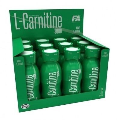 FA Nutrition L-Carnitine 3000 12 Shot 100 ml