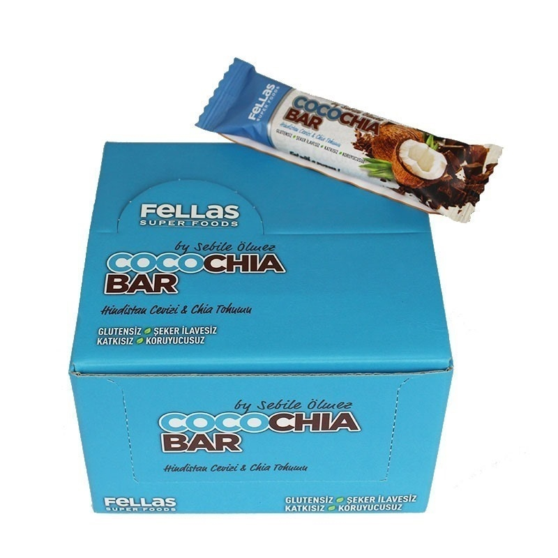 Fellas CocoChia Bar 45 Gr 16 Adet