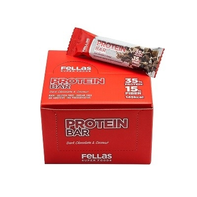 Fellas Protein Bar 45 Gr 16 Adet