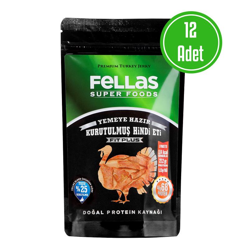 Fellas Turkey Jerky Fit Plus 40 Gr 12'li Paket