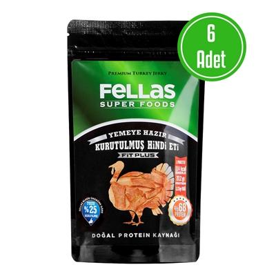 Fellas Turkey Jerky Fit Plus 40 Gr 6'li Paket