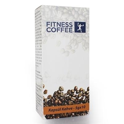 Fitness Coffee Kapsül Kahve 5 Gr 10 Kapsül