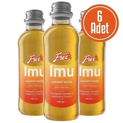 Free Imu Water 330 mL 6 Adet