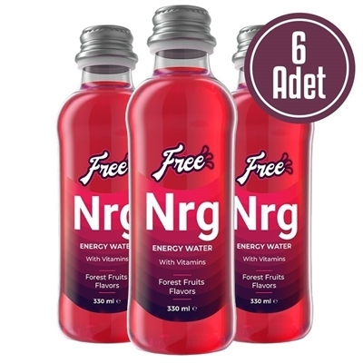 Free Nrg Water 330 mL 6 Adet