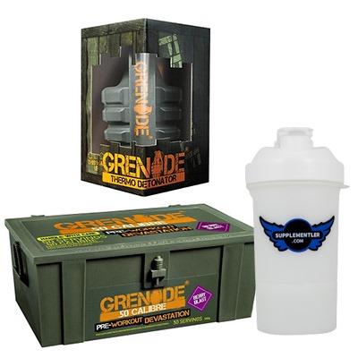 Grenade 50 Calibre + Grenade Thermo Detonator + Supplementler Shaker