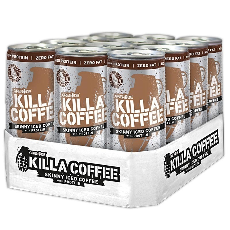 Grenade Killa Coffee Protein Shake 250 mL 12 Adet