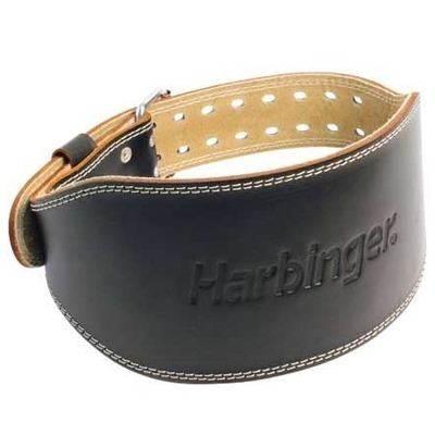 Harbinger 6'' Padded Leather Belt Deri Ağırlık Kemeri