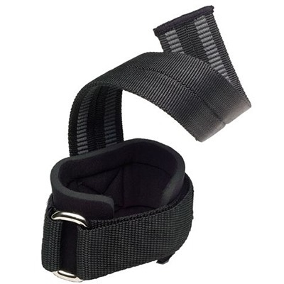 Harbinger Big Grip Pro Lifting Straps Siyah
