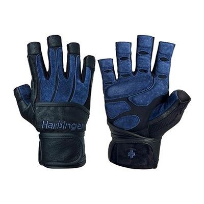 Harbinger Bioform Eldiven Wristwrap Siyah ve Mavi